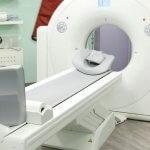 Computertomografie-Raum im Radiologischen Zentrum in Höchstadt