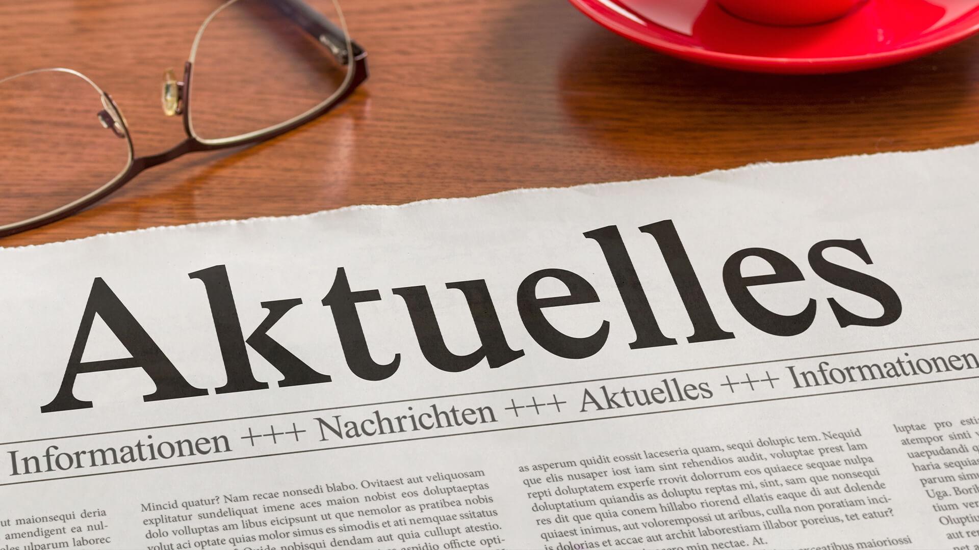 Banner für aktuelle Informationen rund um das Radiologisches Zentrum in Höchstadt