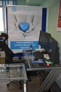 Herzdiagnostik und Befundungsplatz