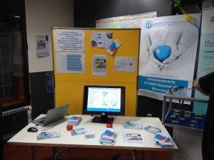 Informationsstand für Radiologisches Zentrum in Höchstadt
