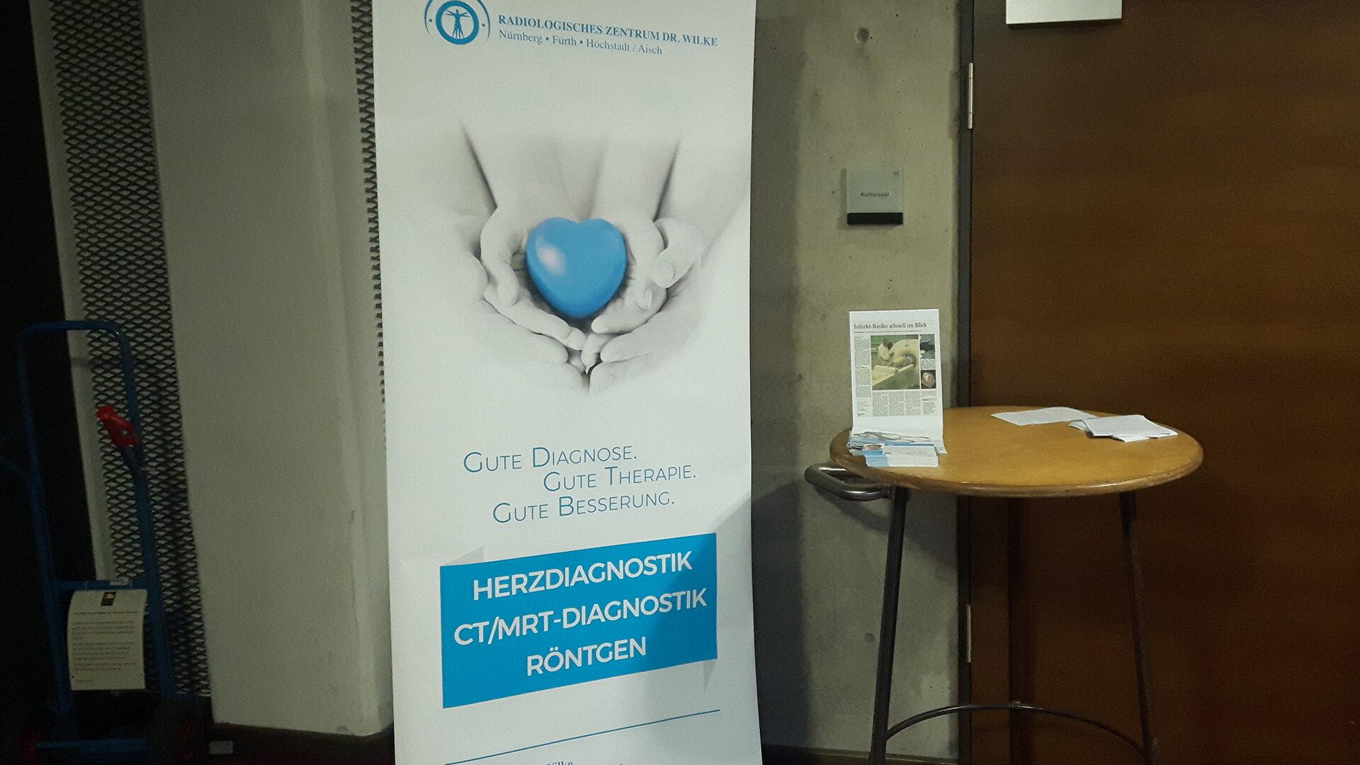 Herzdiagnostik, CT/MRT-Diagnostik und Röntgen-Banner im Radiologisches Zentrum in Höchstadt